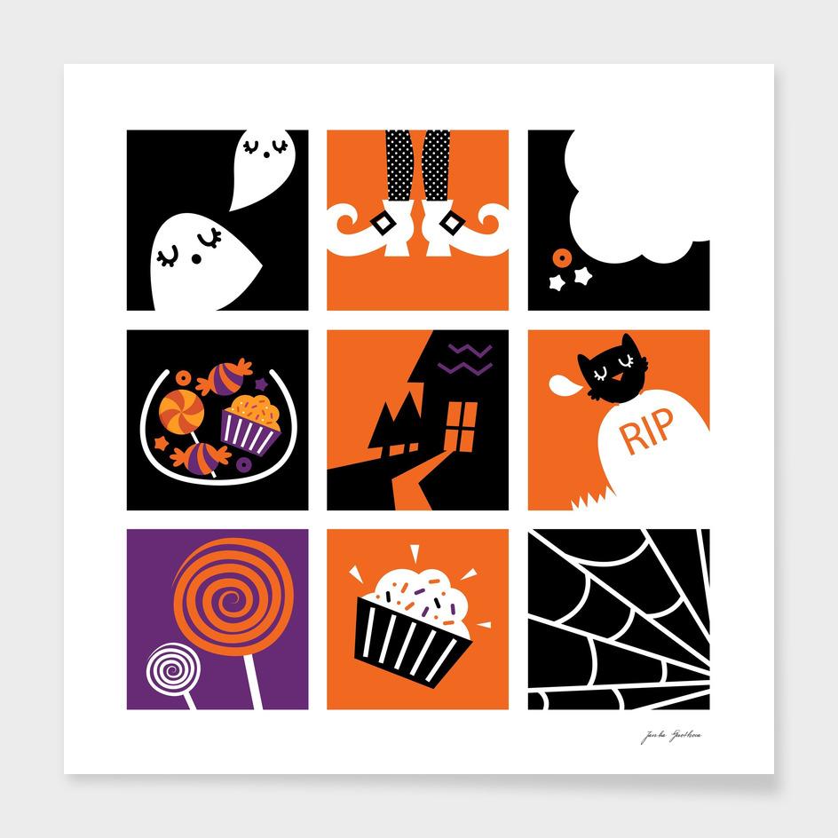 Original 60s vintage halloween edition