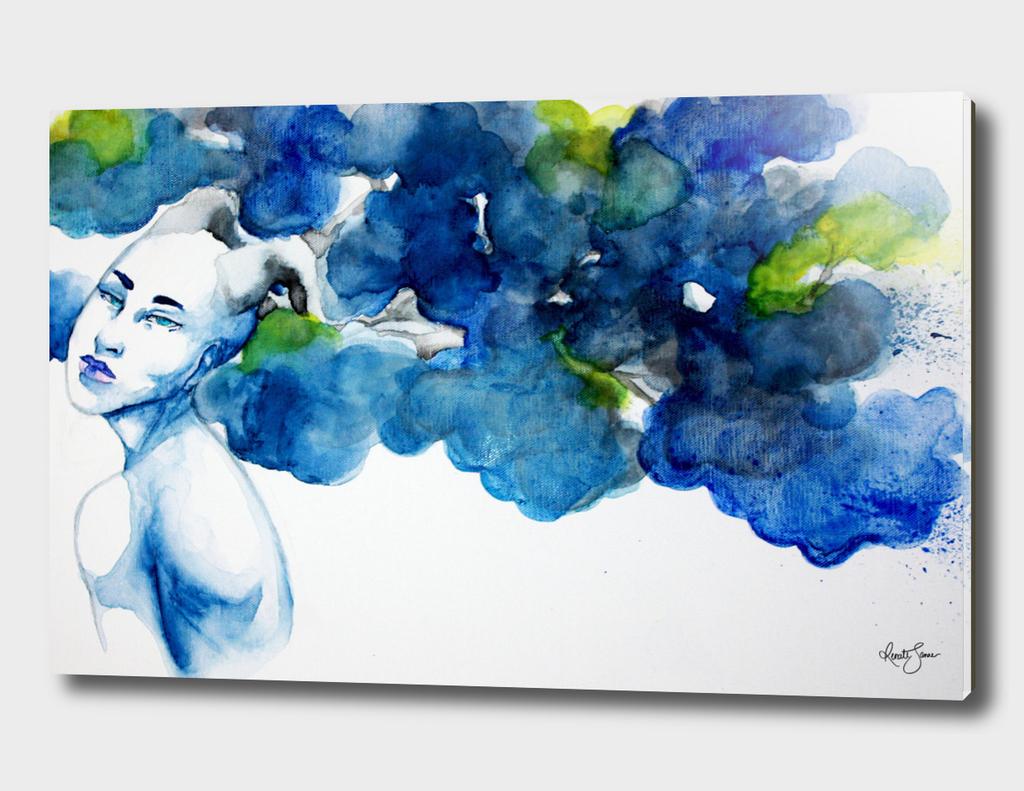 Blue Forest Spirit