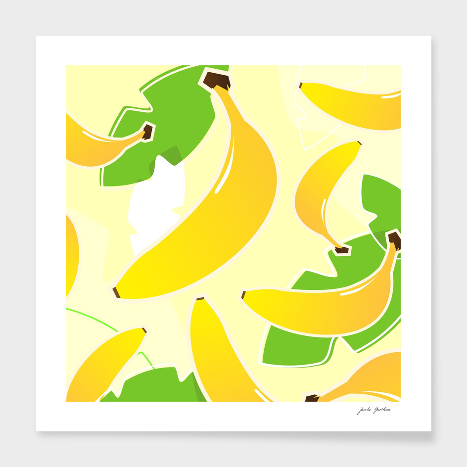 New hand drawn Banana design