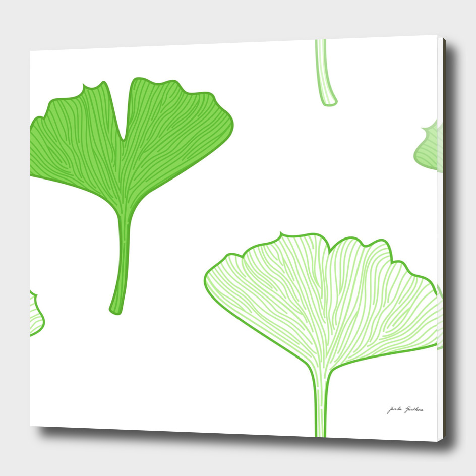 Gingko green art collection