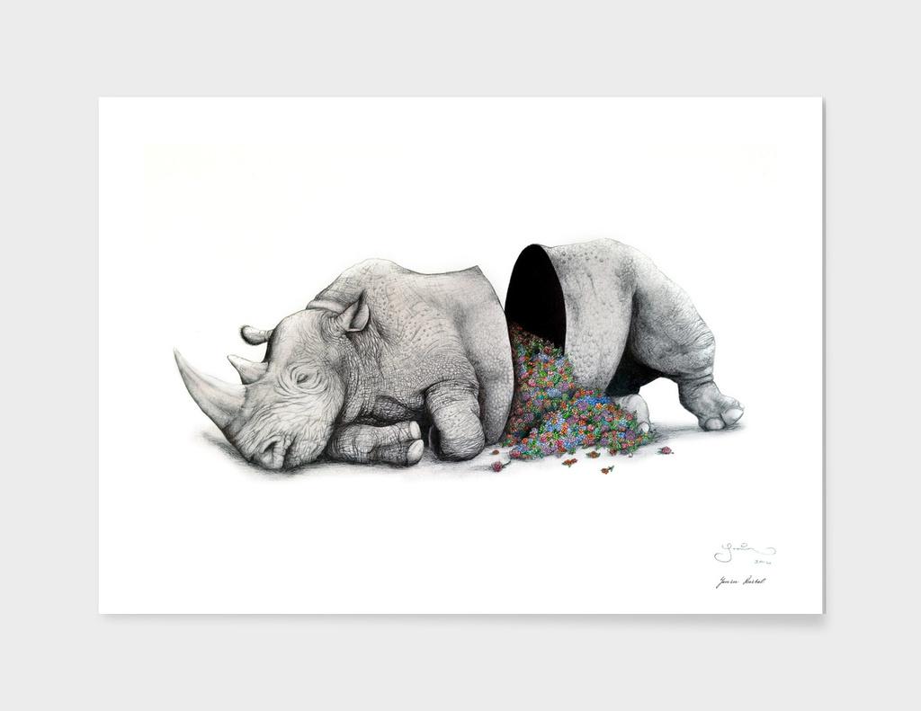 Rhino Piñata