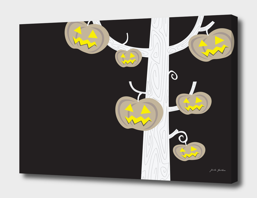 Designers halloween canvas / product designs