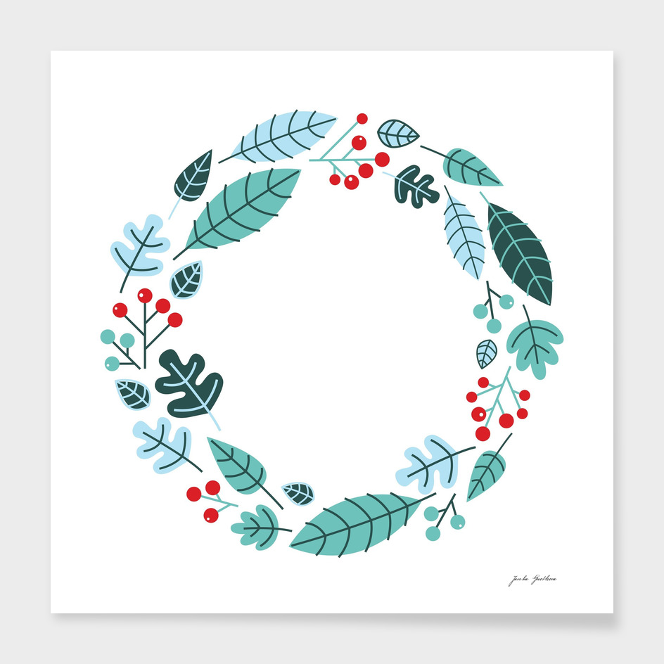 New creative wreath : xmas Wreath