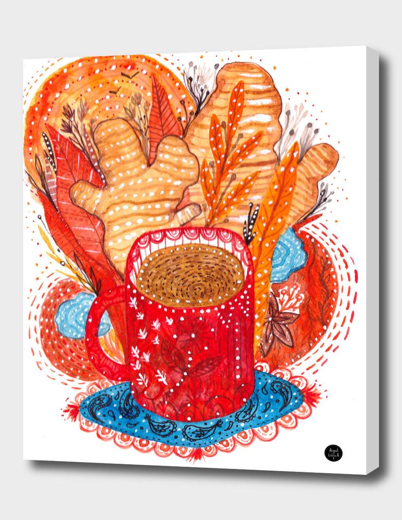 Morning ginger tea