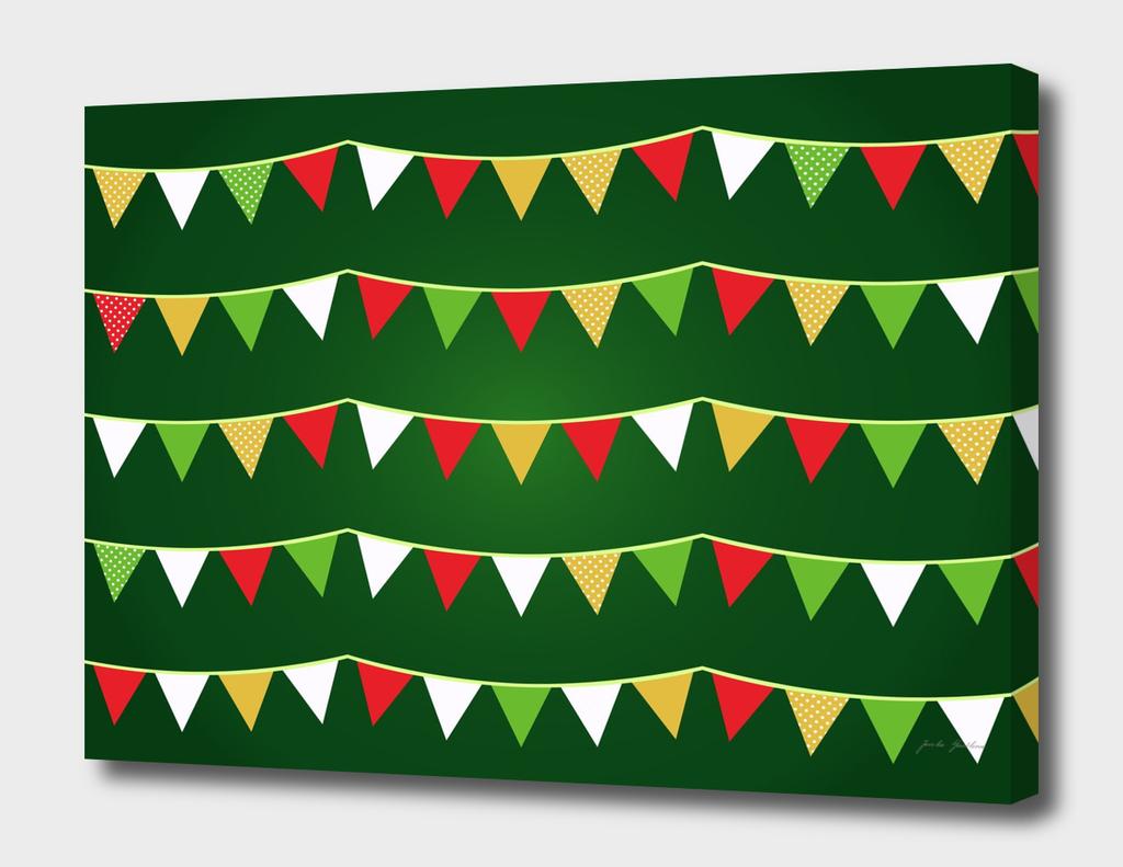 Xmas original wreath : Green edition