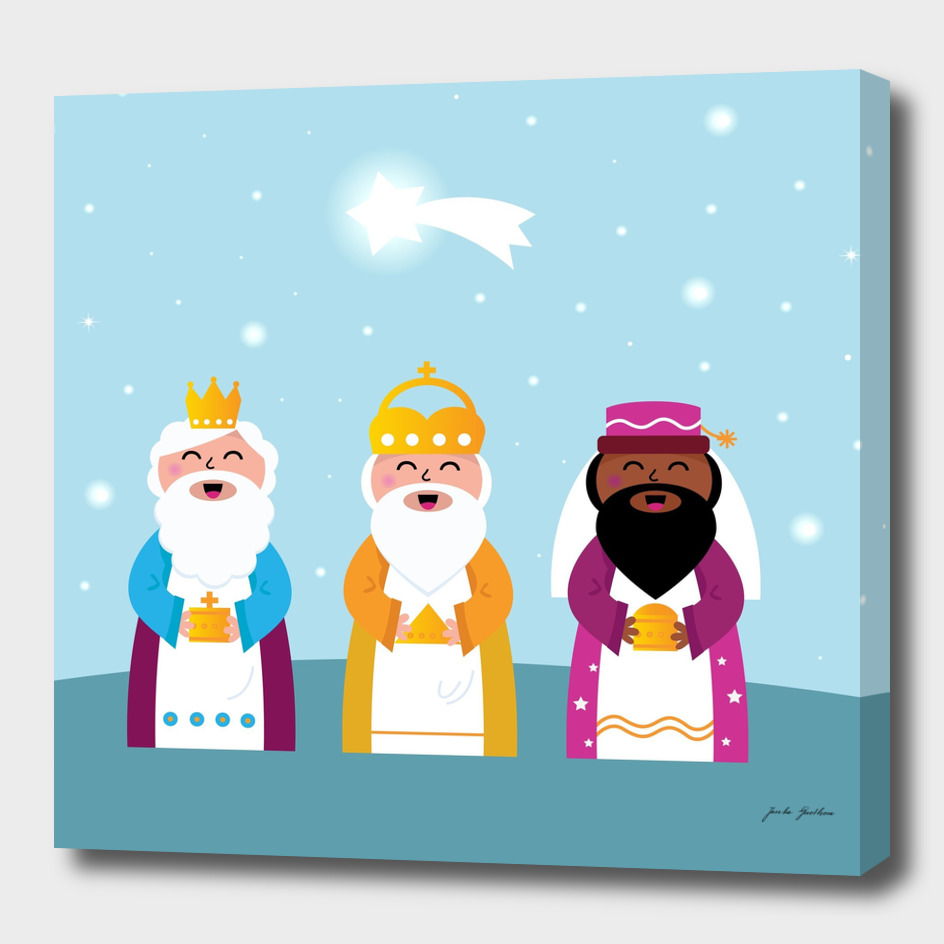 Three kings : new Kids artwork