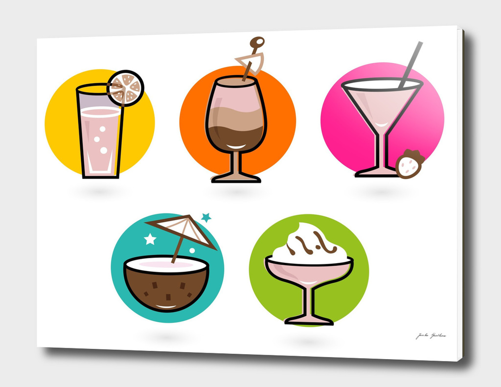 NEW Vintage Cocktail edition 60S ART