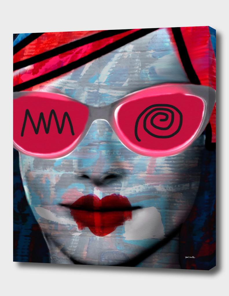 Cardboard Pink Lady