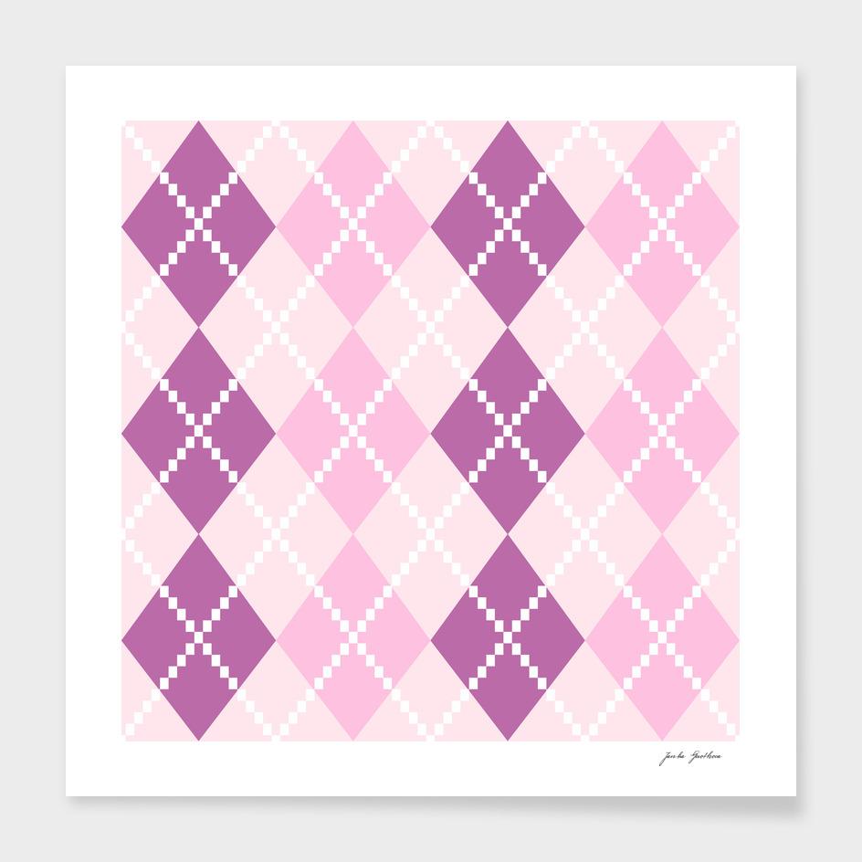 Vintage pink zig zag edition