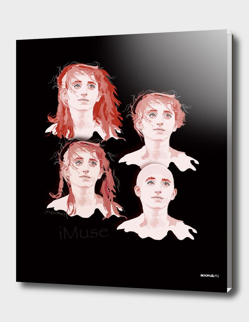 """Portrait """"Daniella"""" 2 (4 hair styles)"""