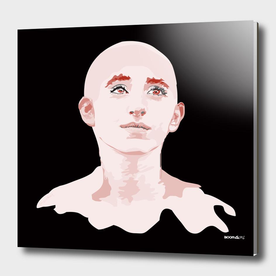 "Portrait ""Daniella"" 4 (pink)"