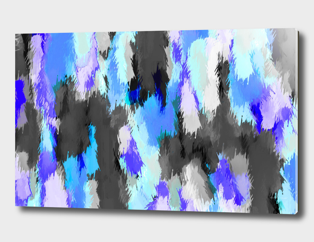 blue purple and black painting texture abstract background