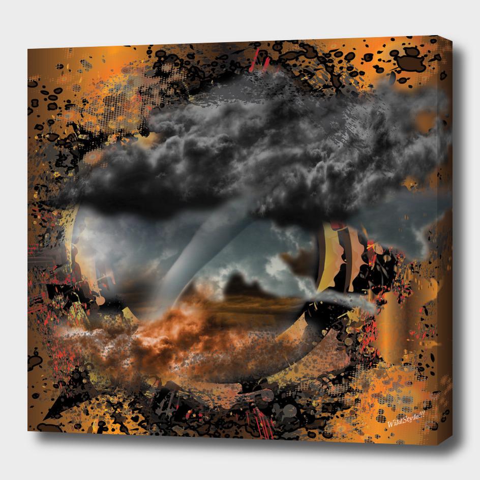 Tornado Violent Nature 3D Digital Design