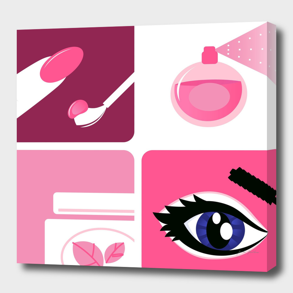 Wellness and cosmetics Icons