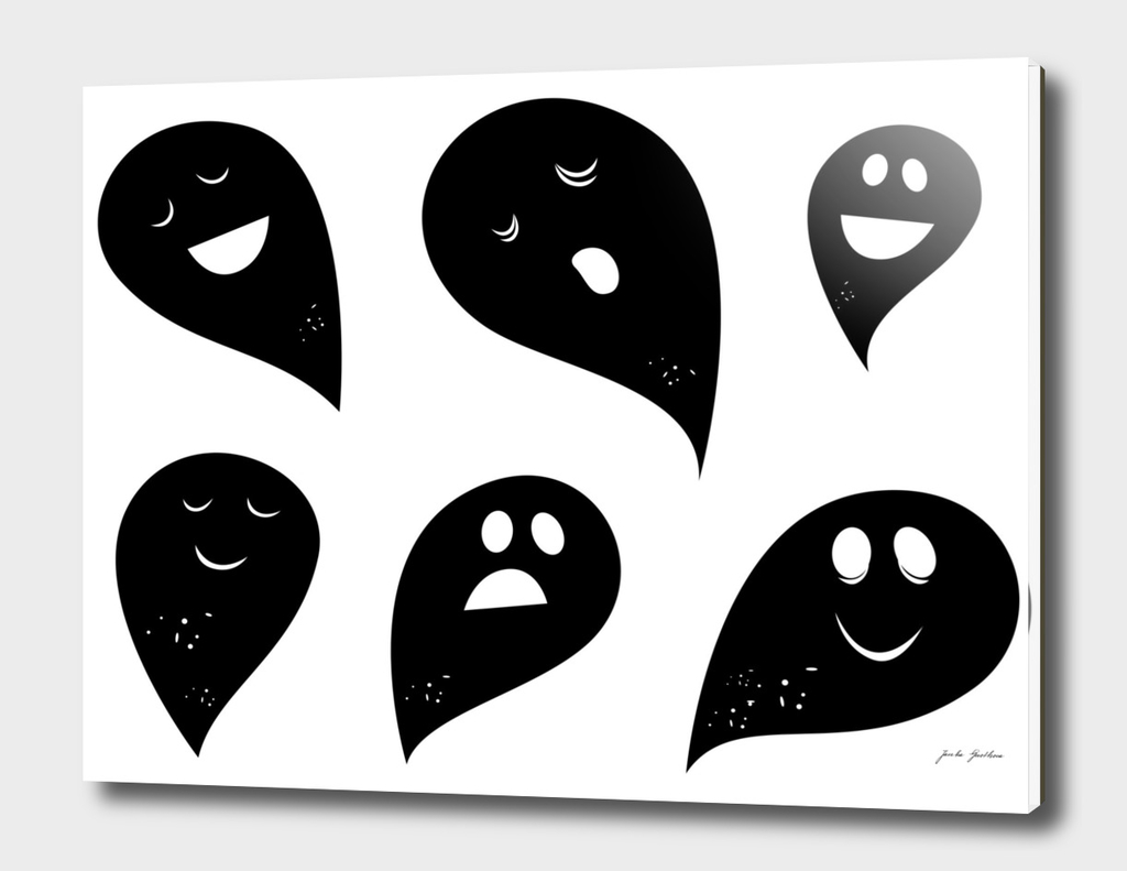 New in shop : Creative ghost collection