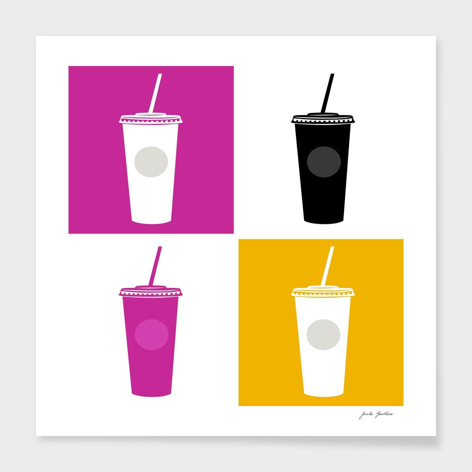 Vintage cocktail Edition : 60s art