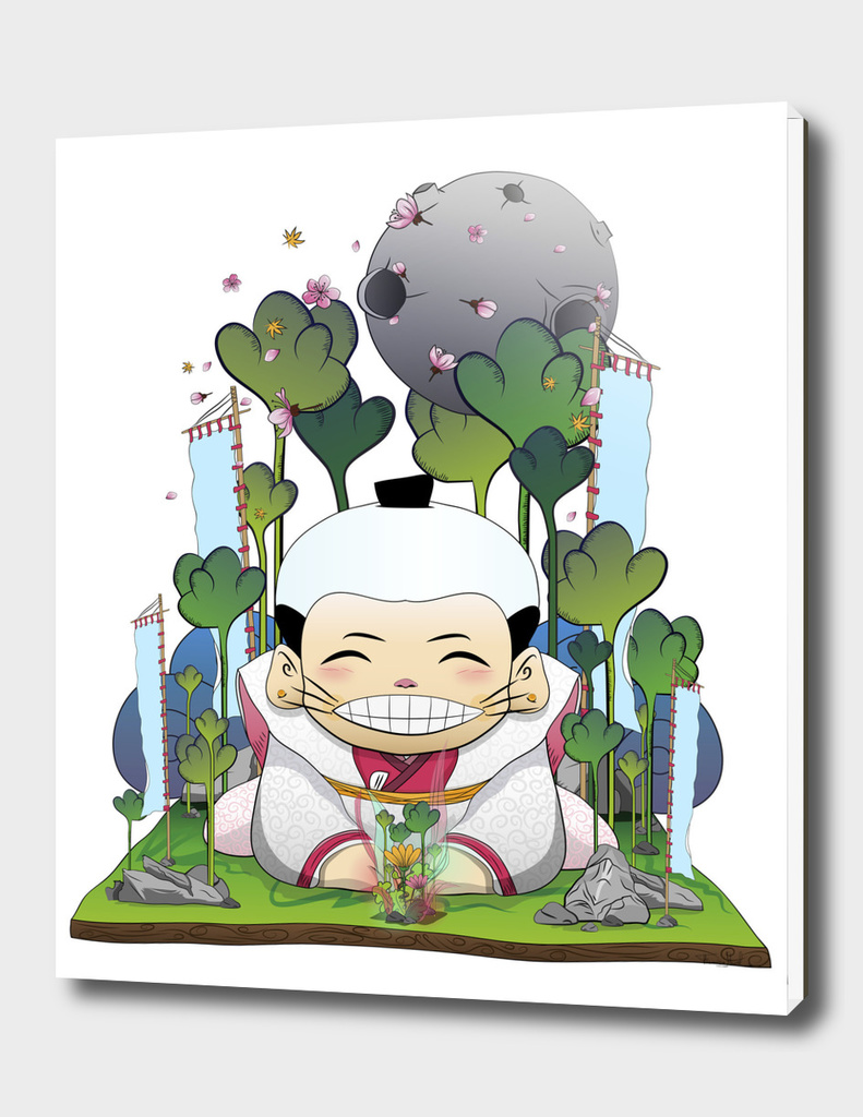 Fukusuke and the magical forest