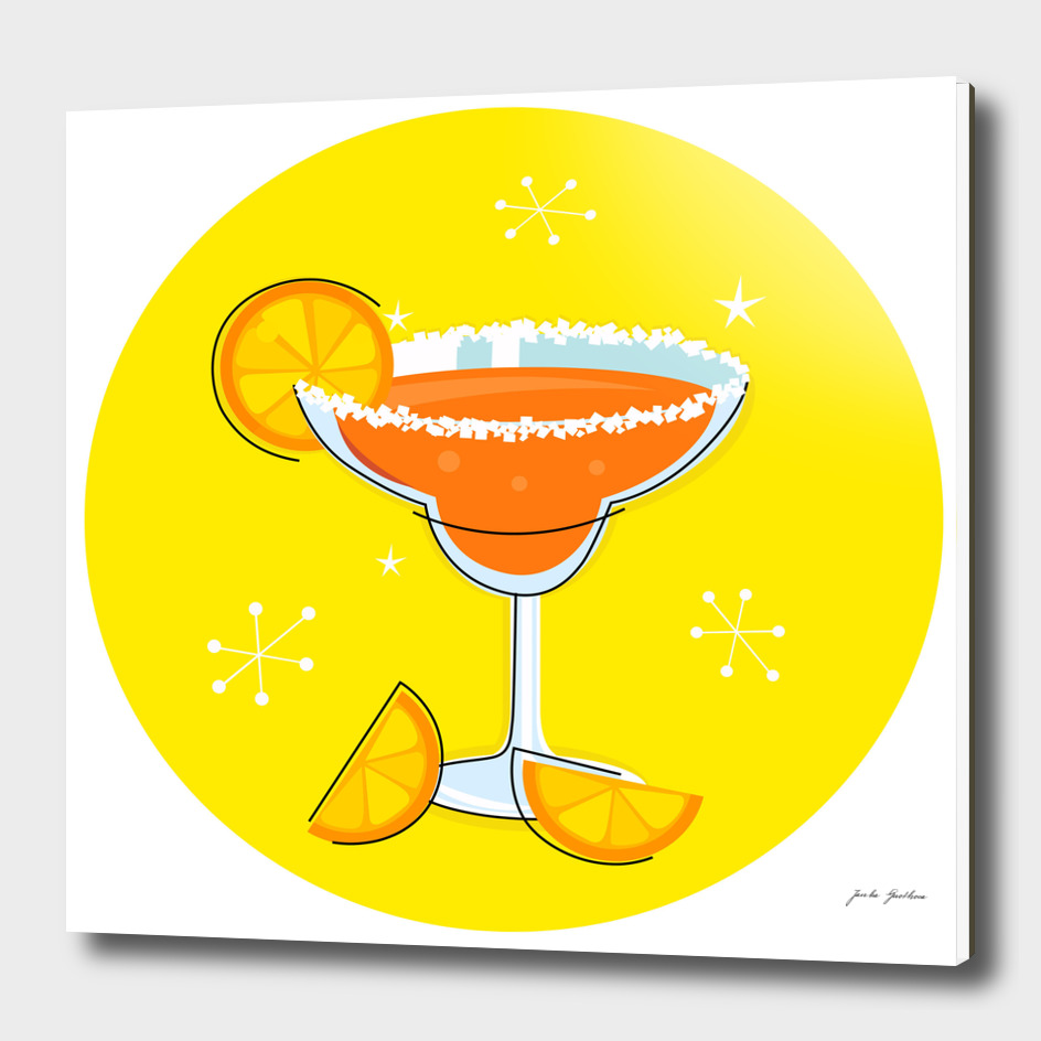 New in shop : VINTAGE hand-drawn Cocktail