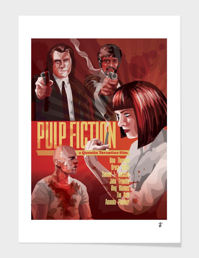 Pulp Fiction alternative poster