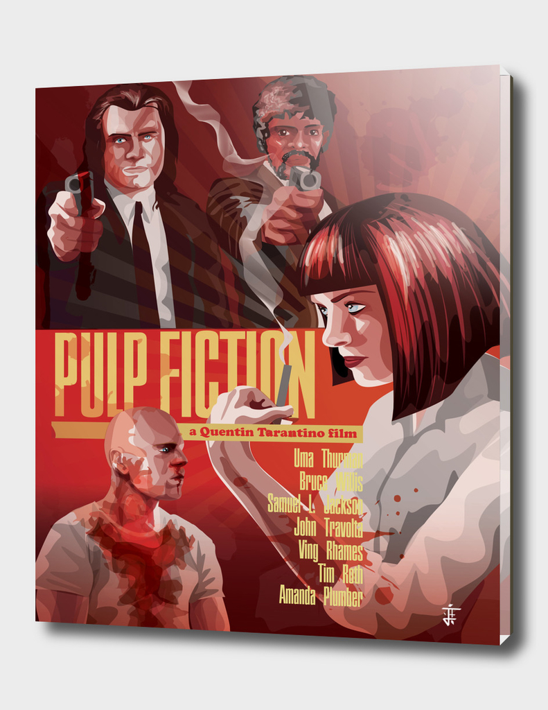Pulp Fiction alternative poster