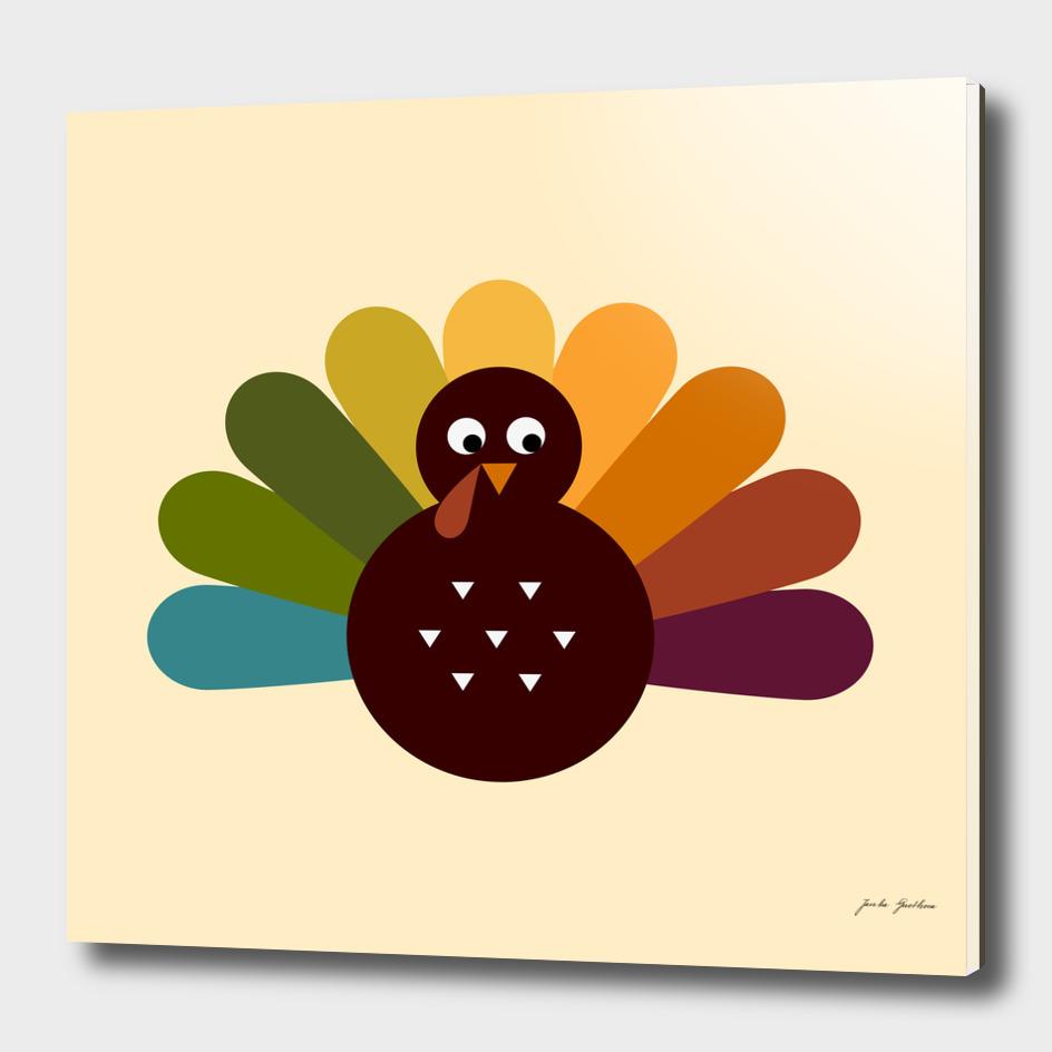 New turkey in shop : hand-drawn Art