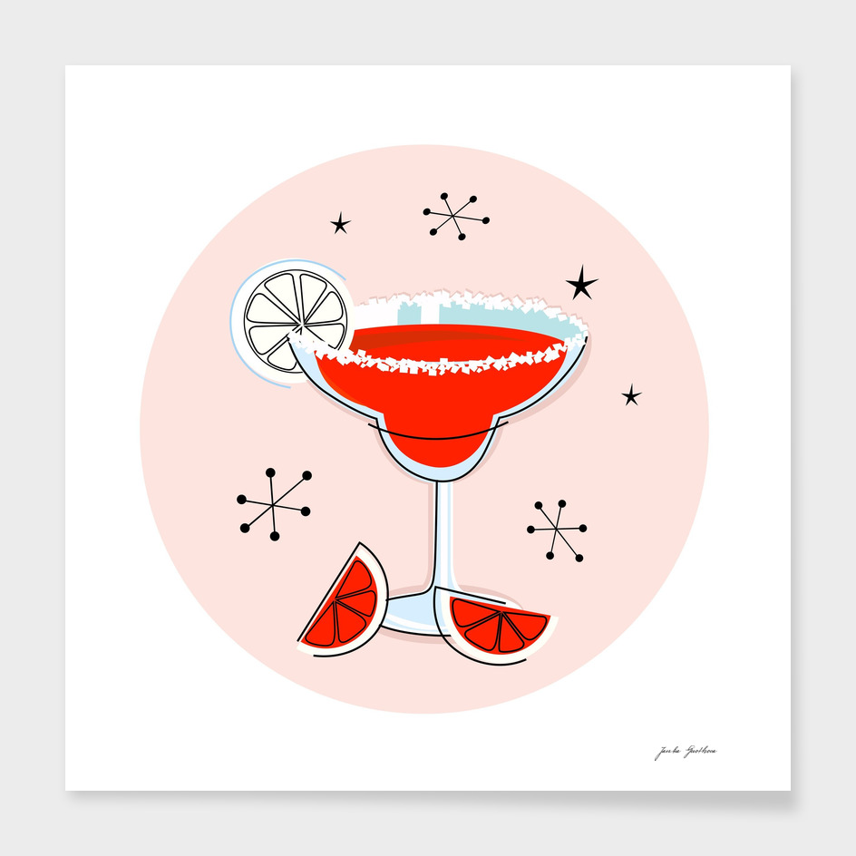 "Margarita ""RED"" Cocktail edition"
