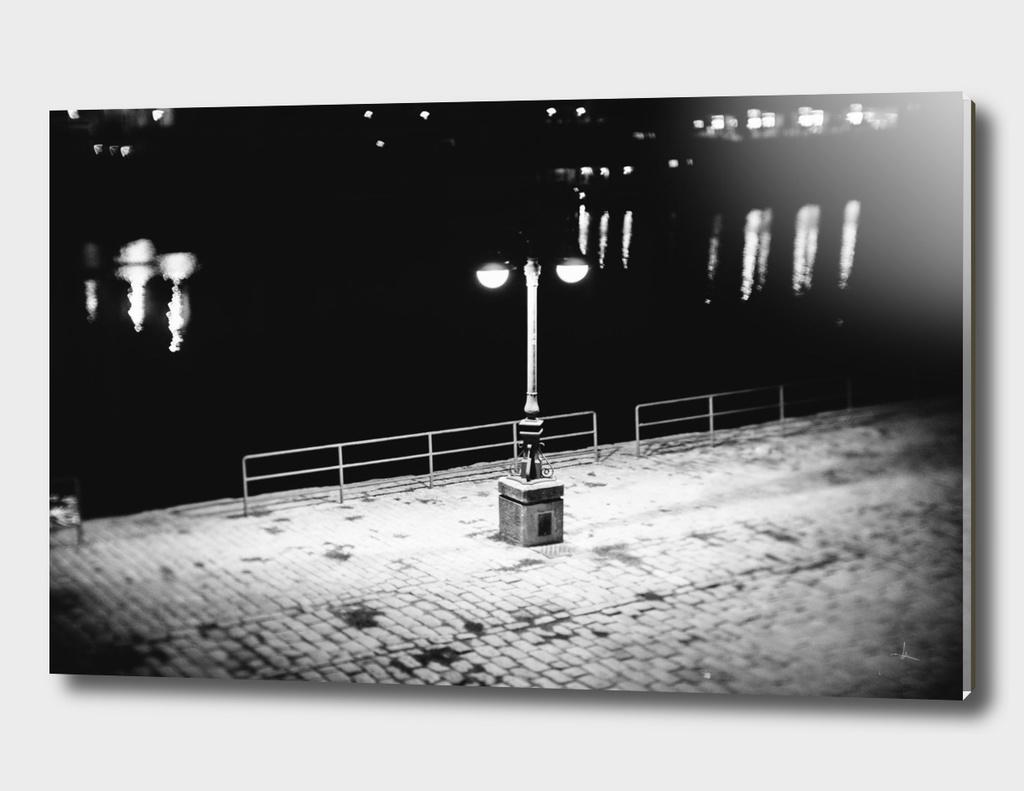 Farola nocturna