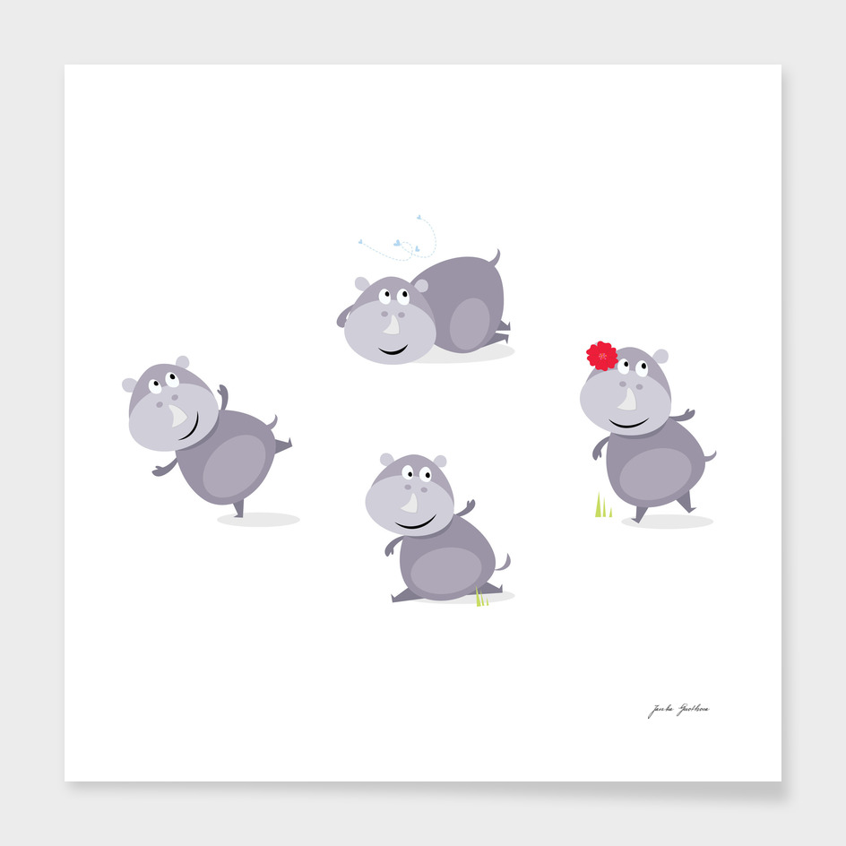 "New ""little hippo"" edition in Shop"