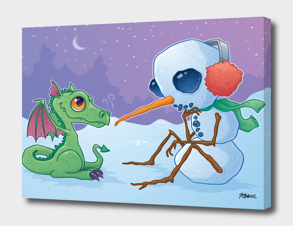 Snowman and Dragon