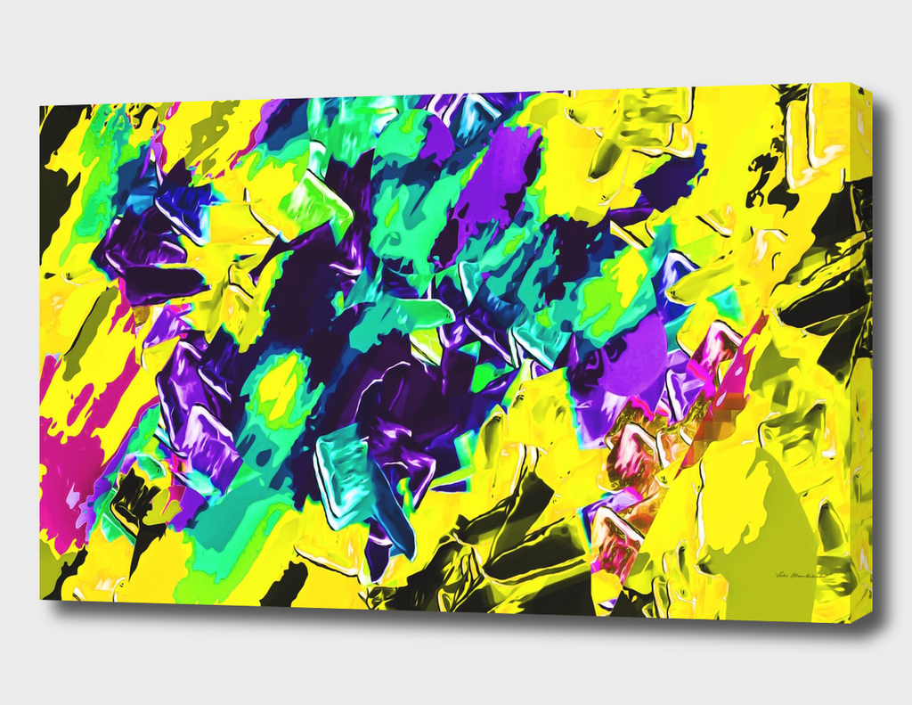 yellow green pink purple painting texture background