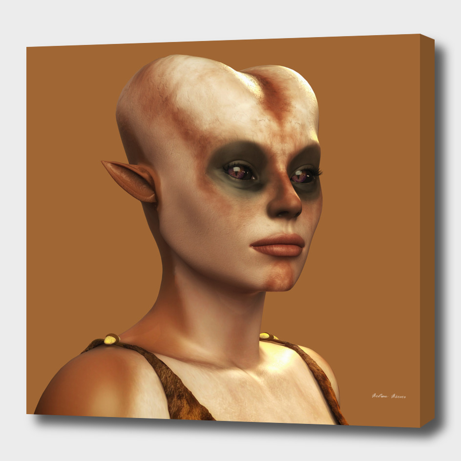 Ursila: An Alien Portrait