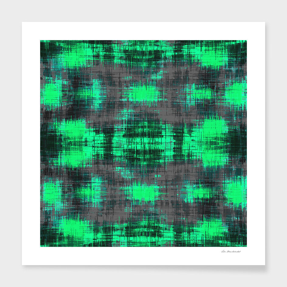 green and black painting texture abstract background