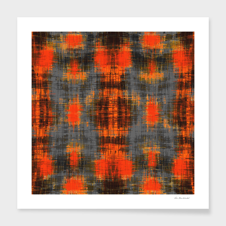 orange brown black and grey painting texture