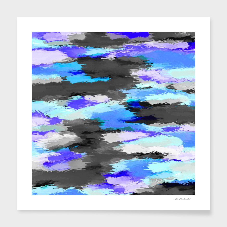 purple blue and black painting texture abstract background