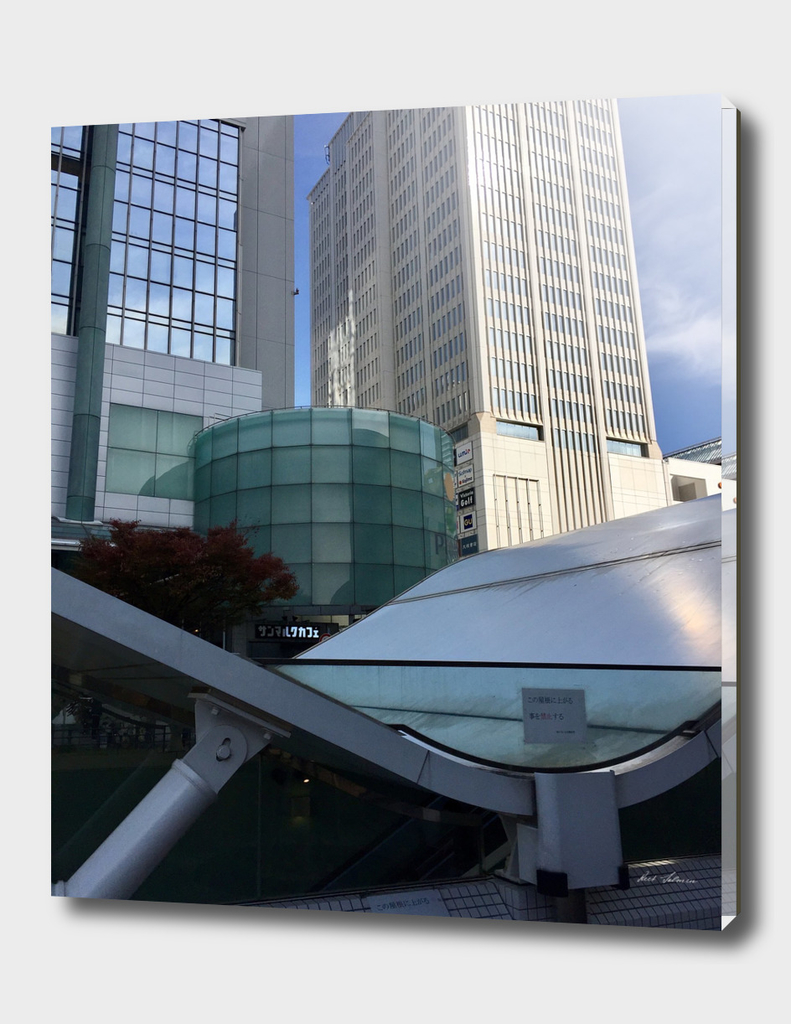 Kobe, city view