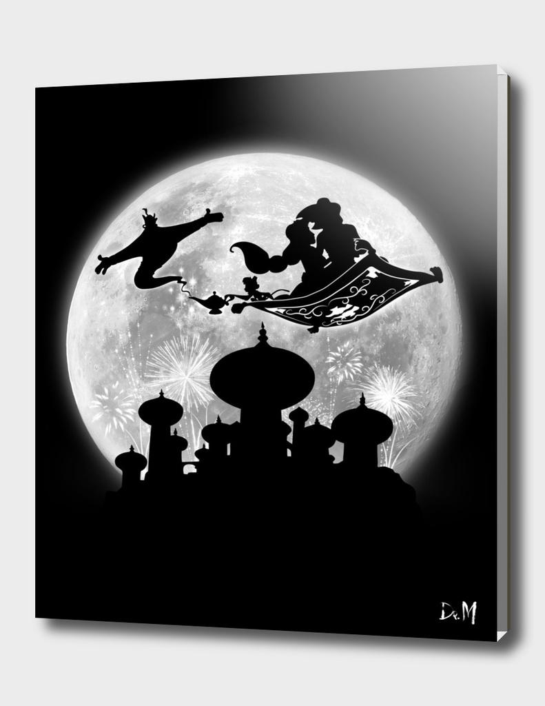 Full moon over Agrabah