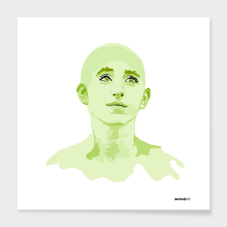 """Portrait """"Daniella"""" 4 (jungle)"""
