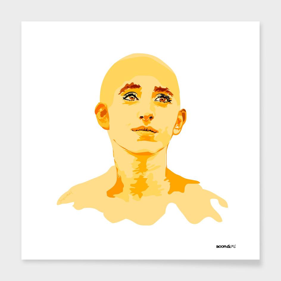 """Portrait """"Daniella"""" 4 (sun)"""