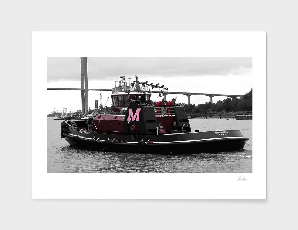 Copper Moran Boat