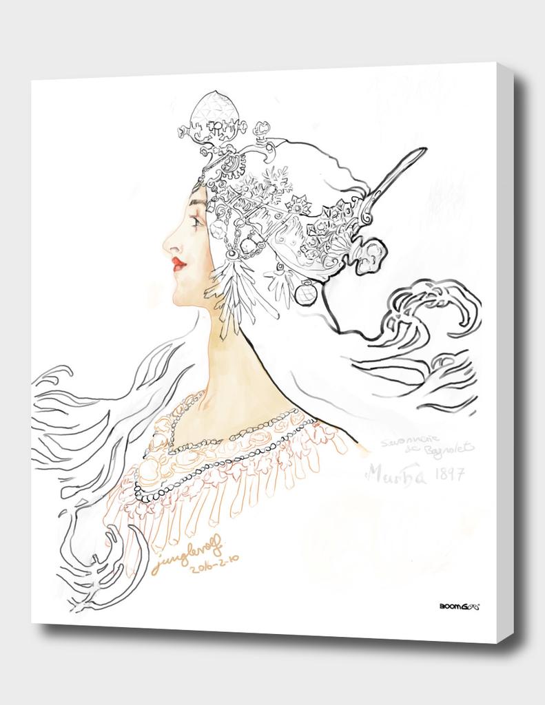 Mucha 1897 style savonnerie (poster 1)