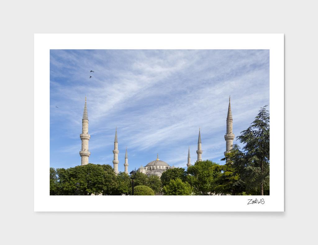 Blue Mosque Minarets
