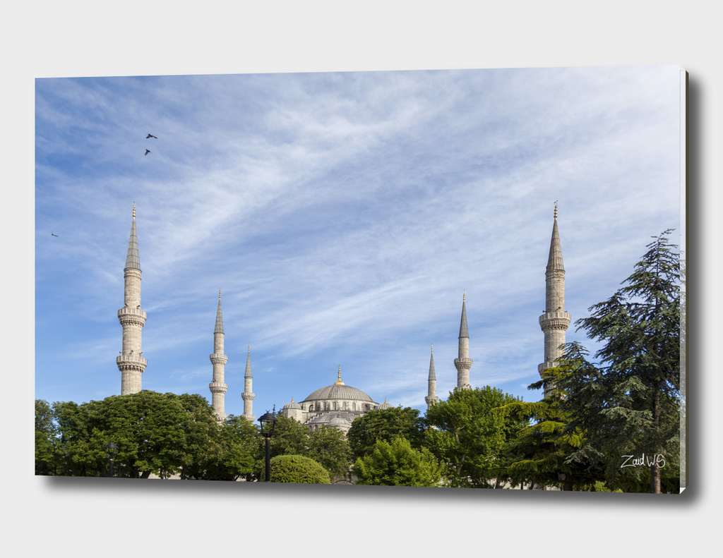 Blue Mosque Minarets