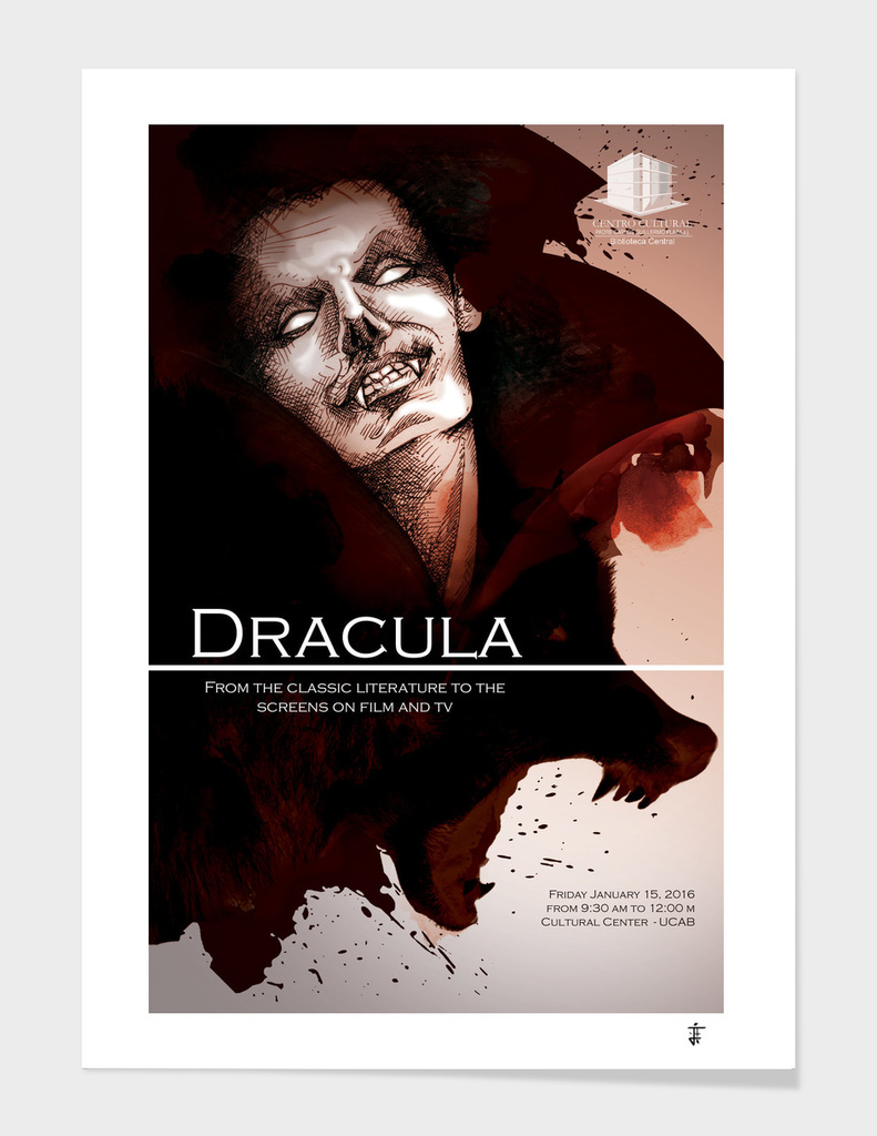 Dracula event poster