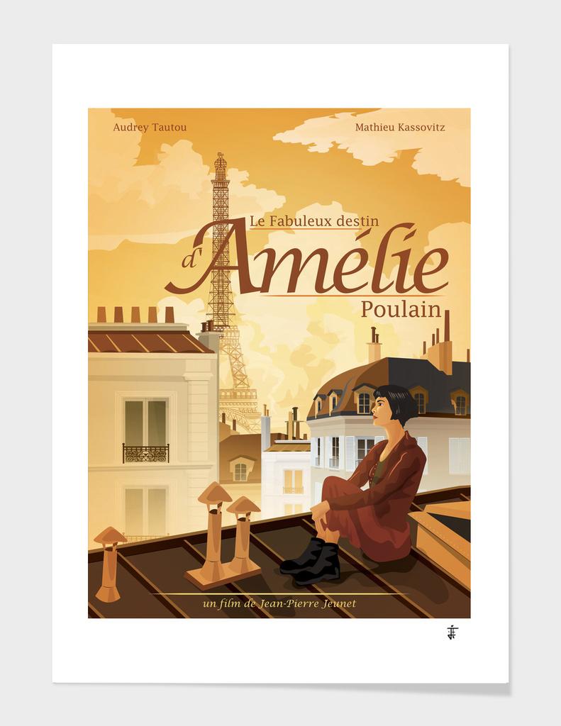 Le Fabuleux destin d'Amelie Poulain Poster