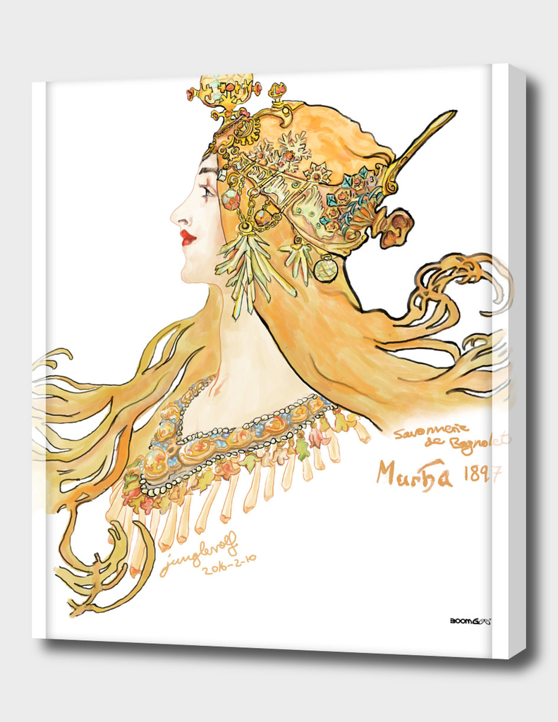 Mucha 1897 style savonnerie (poster 3)