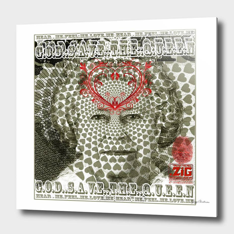 God Save The Queen Blood & Khaki (Hear Me Edition)