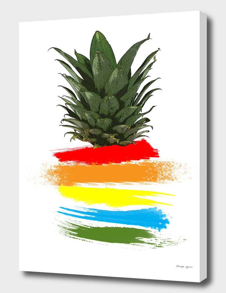 Rainbow Pineapple