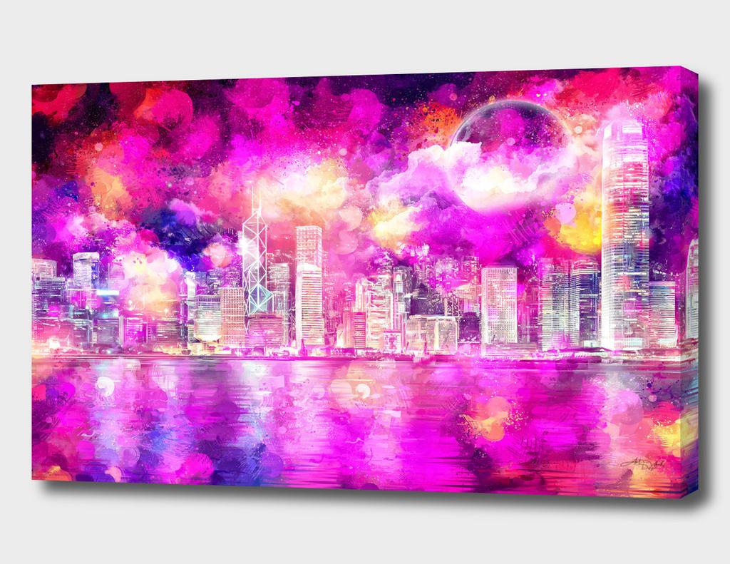 Modern Masterpiece VII - Dreamy cityscape / NE