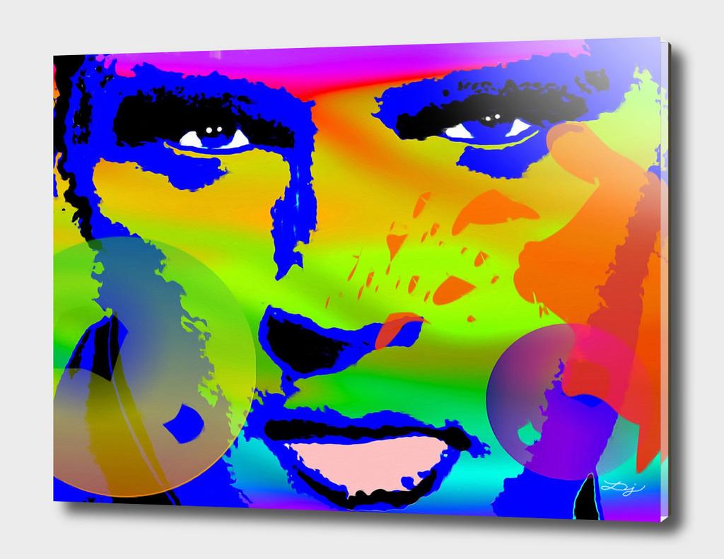 Elvis Painted