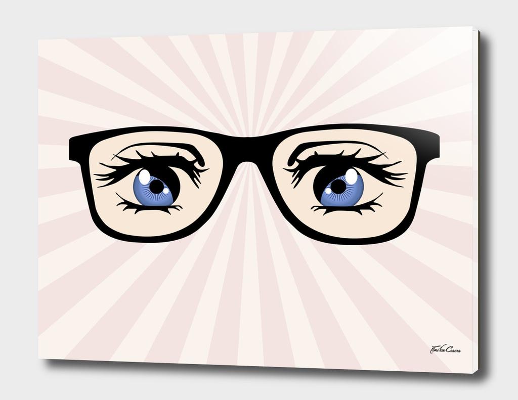 glasses manga rayons